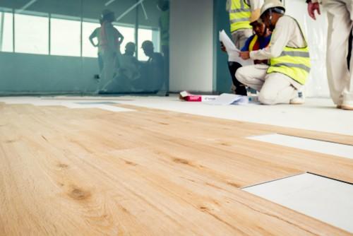 Vinyl Flooring In Singapore, Yellow Laminate Flooring